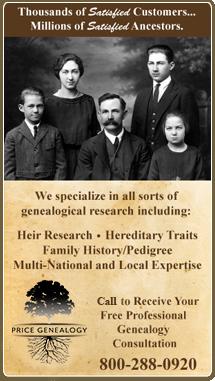 Price & Associates English Genealogy