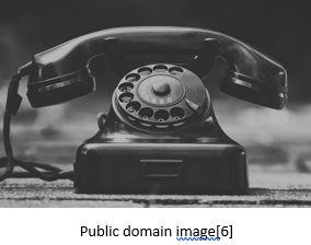 Genetic Genealogy by popular US online genealogists, Price Genealogy: image of a retro telephone.