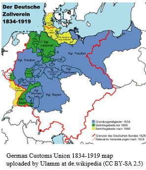 German Census Records by popular US online genealogists, Price Genealogy: image of a map of Germany.
