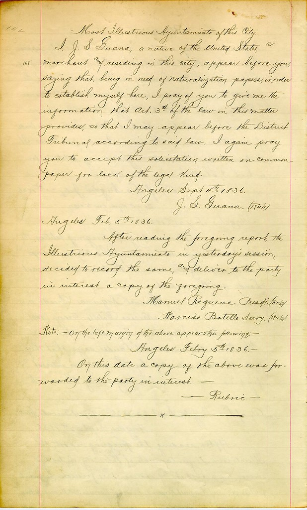 Naturalization Research by popular US online genealogists, Price Genealogy: image of a hand written note.
