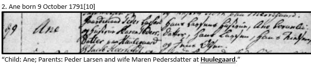 Danish Research by popular US online genealogists, Price Genealogy: image of a Danish marriage document.