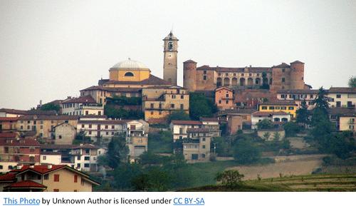 Italian Ancestors by popular US online genealogists, Price Genealogy: image of an Italian city.