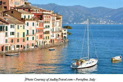 Italian Vital Records by popular US online genealogists, Price Genealogy: image of a coastal Italian village.
